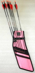 Deluxe Orion Quiver Archery, quiver, bow and arrow, arrow, bag, holder, hip quiver, side quiver, field quiver, individual, sleeves
